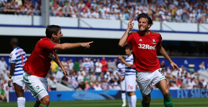 Michu vs Queens Park Rangers